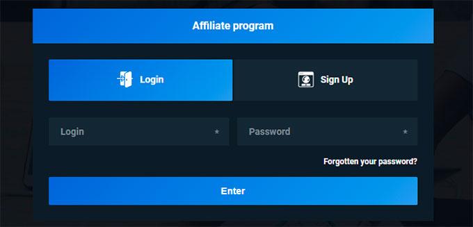 registration affiliate program